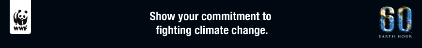 WWF. Show your comminment to fighting climate change.